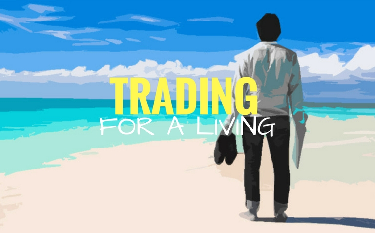 Forex living off